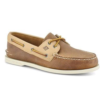 Mns AO2eyeWildHorse sahara/oat boat shoe