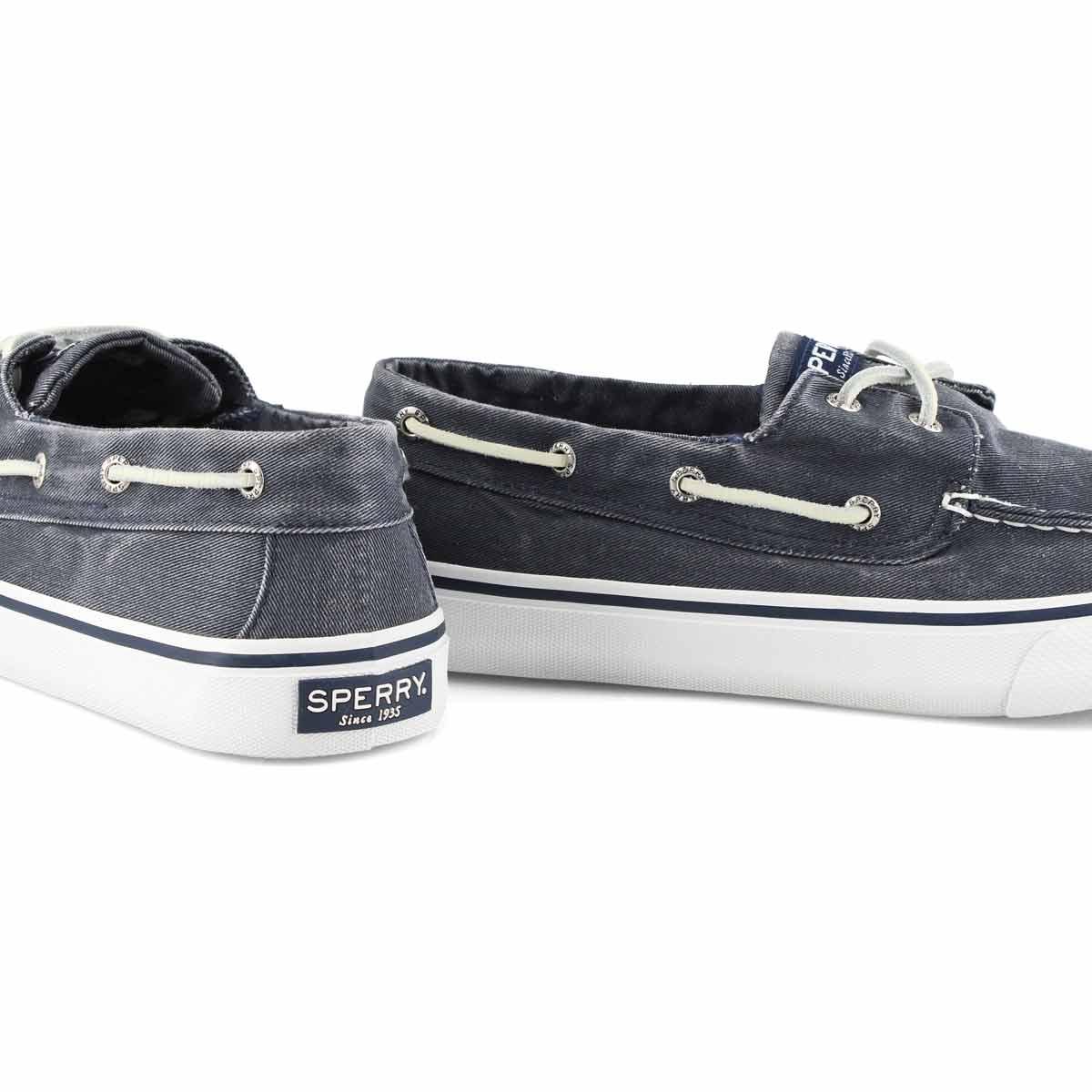 Mns Bahama II navy boat shoe