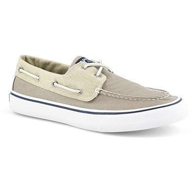 Mns Bahama II oyster/khaki boat shoe