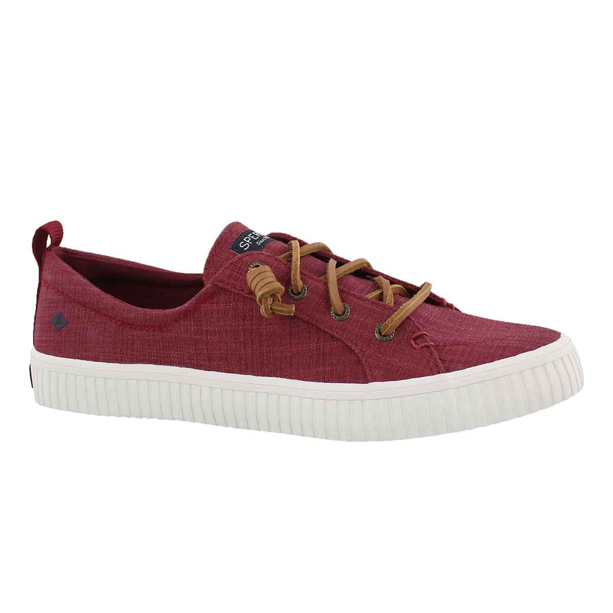 Women's CREST VIBE CREEPER rosewood sneakers
