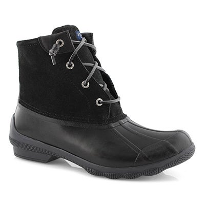 Lds Syren Gulf black low rain boot