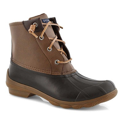 Lds Syren Gulf brown low rain boot