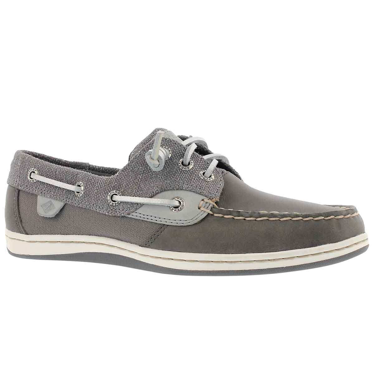 Women's SONGFISH SPARKLE grey boat shoes