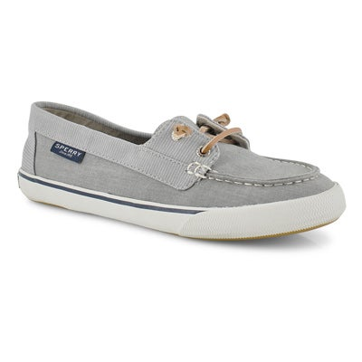 Lds Lounge Away grey boat shoe