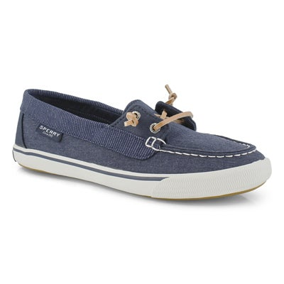 Lds Lounge Away navy boat shoe