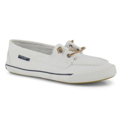 Lds Lounge Away white boat shoe