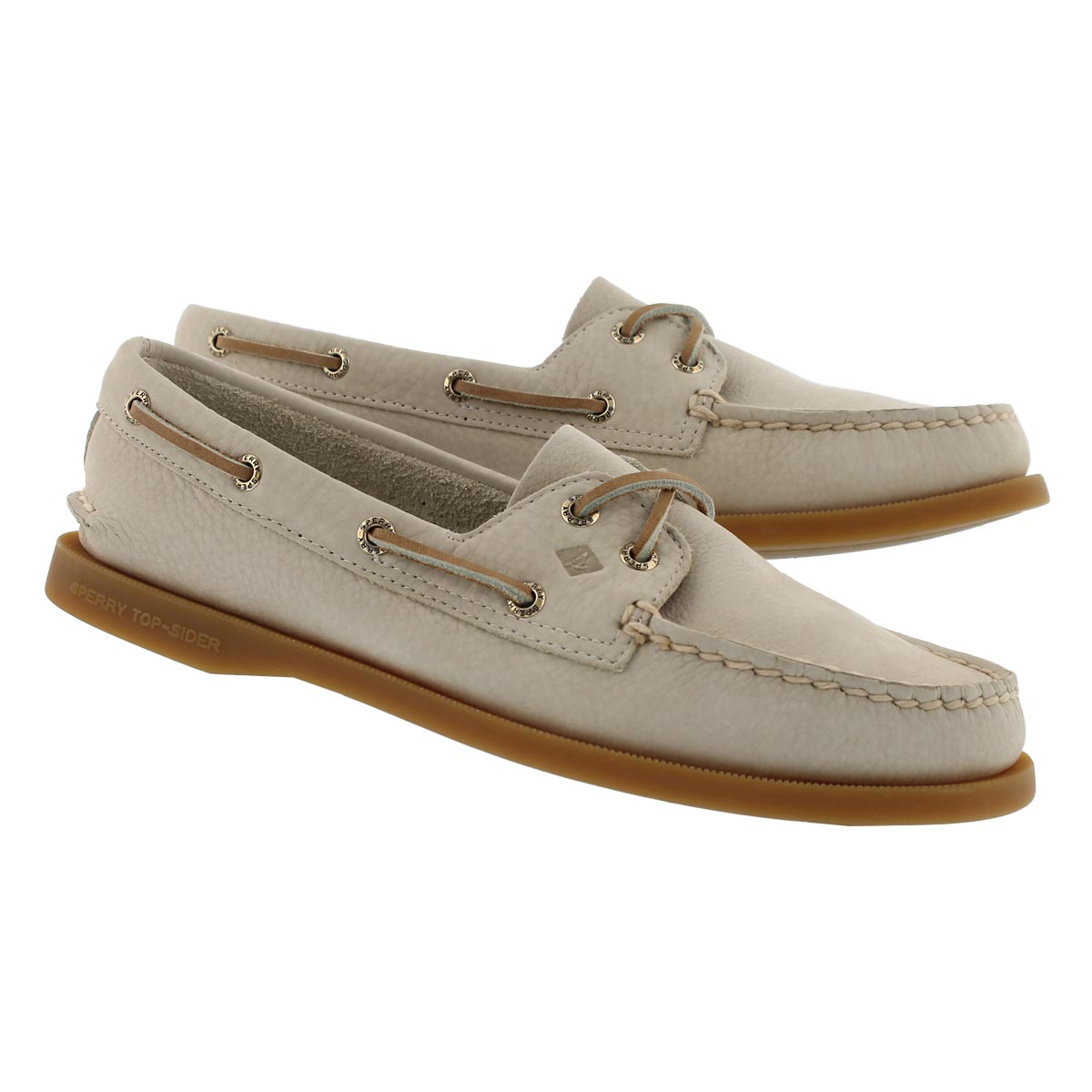 Lds A/O 2-eye sand boat shoe