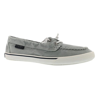 Lds Lounge Away Washed lt blu boat shoe