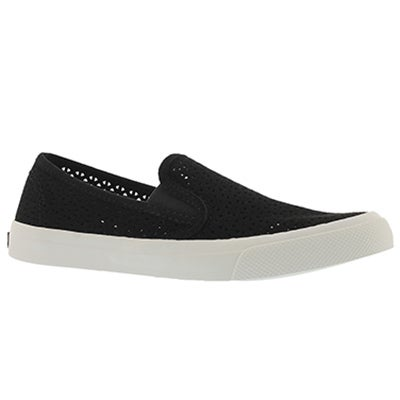 Lds Seaside Nautical Perf black slip on