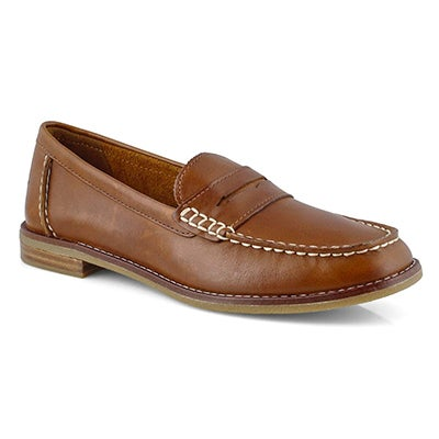 Lds Seaport Penny tan casual loafer
