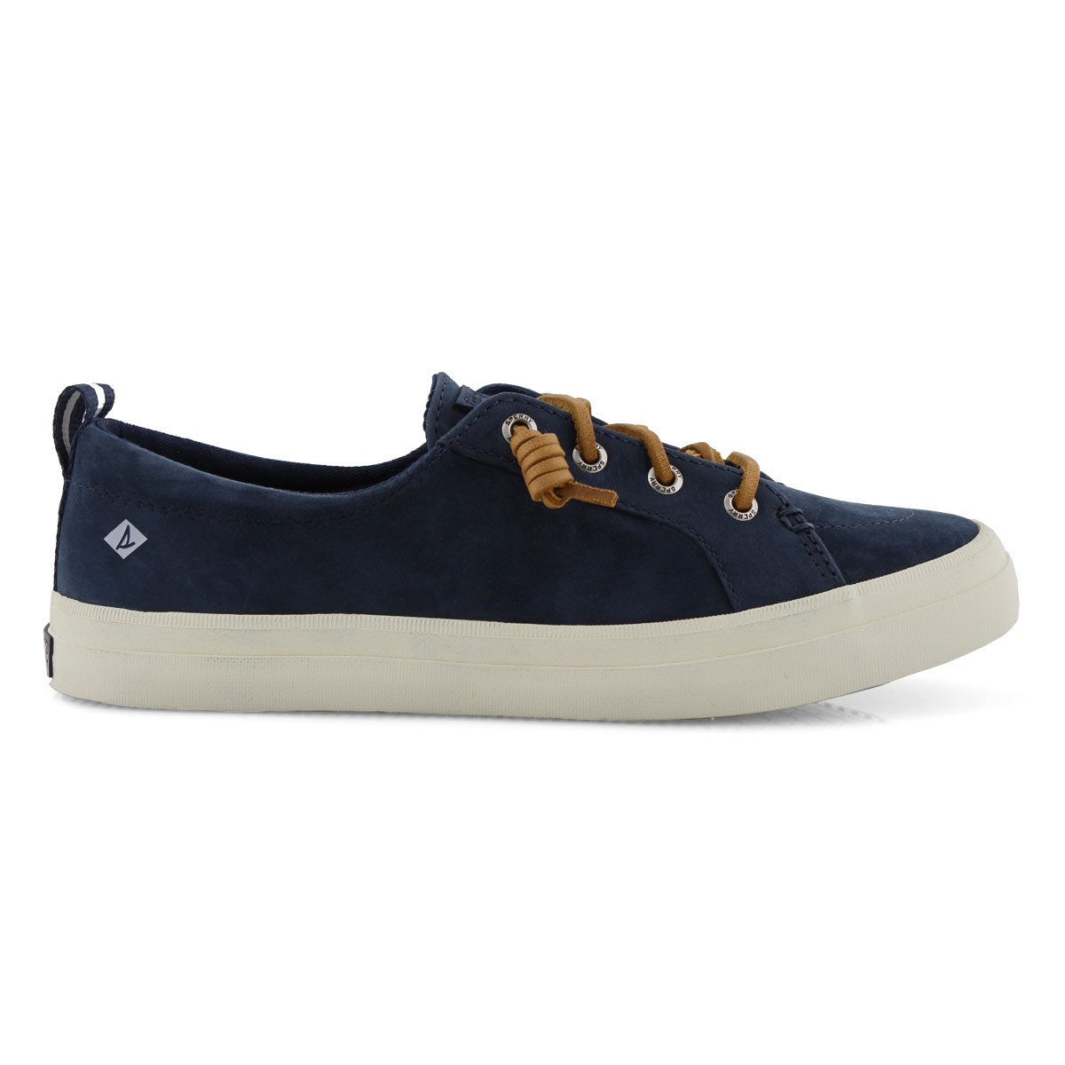 Lds Crest Vibe Washable navy lthr snkr