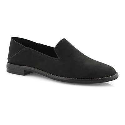 Lds Seaport Levy black casual loafer