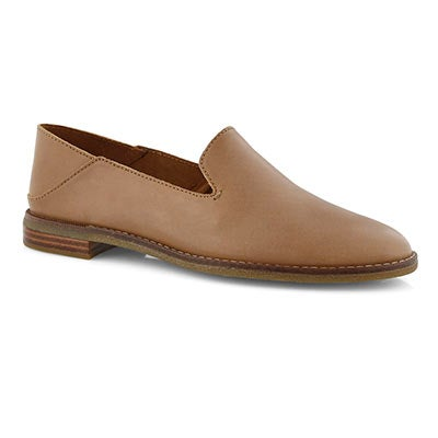 Lds Seaport Levy tan casual loafer