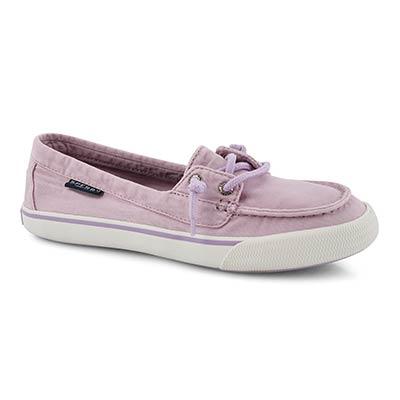 Lds Lounge Away Pastel lvndr boat shoe