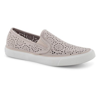 Lds Seaside Perf lilac slip on loafers