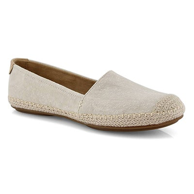Lds Sunset Skimmer ivory casual loafer
