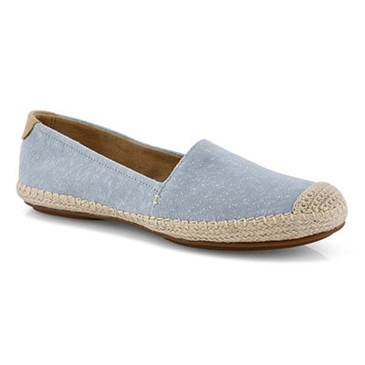 Lds Sunset Skimmer blue casual loafer