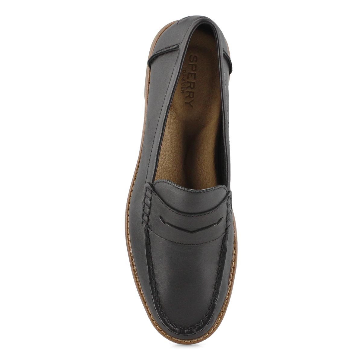 Lds Seaport Penny black casual loafer