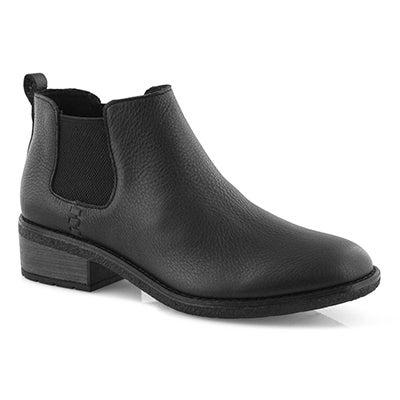 Lds Maya Chelsea black chelsea boot