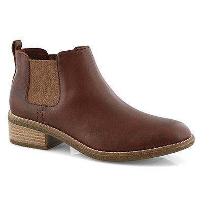 Lds Maya Chelsea brown chelsea boot