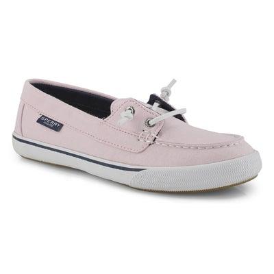 Lds Lounge Away Chambray pink boat shoe