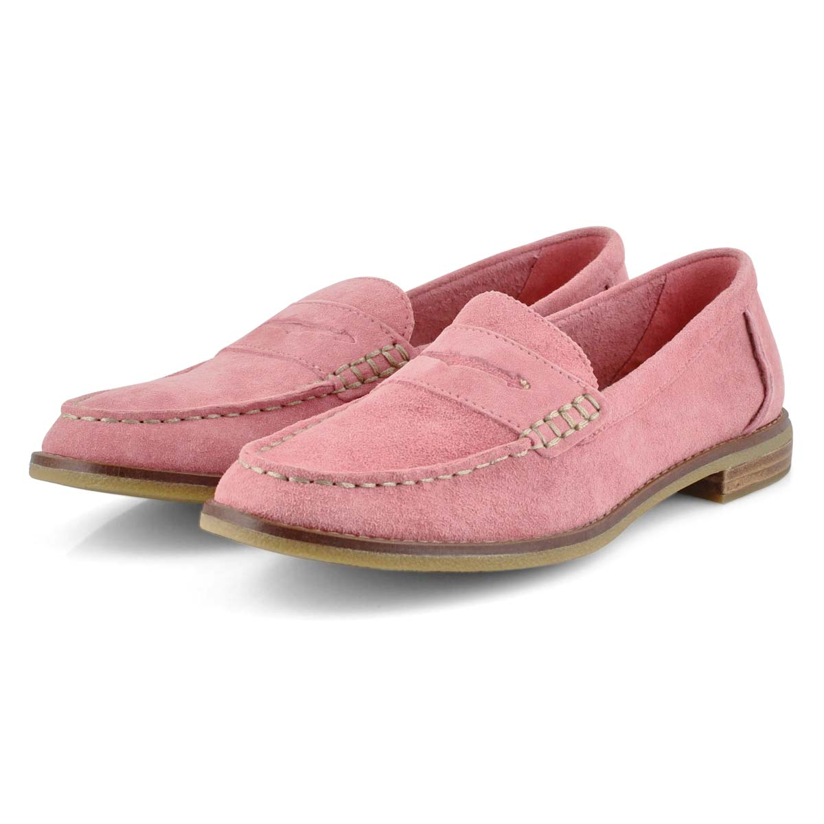 Lds Seaport Penny coral casual loafer