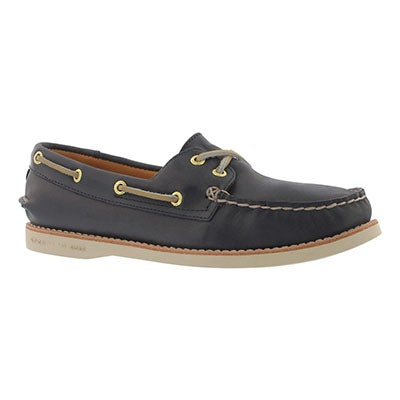 Women's GOLD CUP A/O navy boat shoes