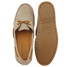 Lds Goldcup A/O grey boat shoe
