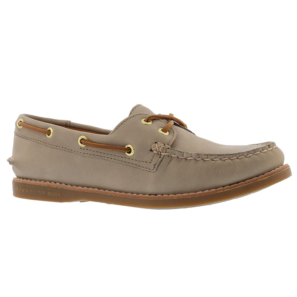Women's GOLD CUP A/O grey boat shoes