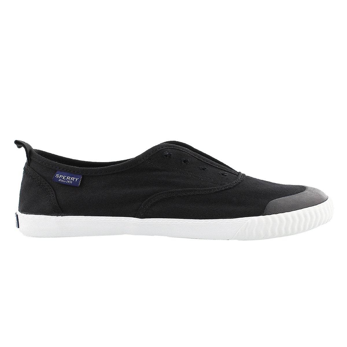 Lds Sayel Clew black wash sneaker