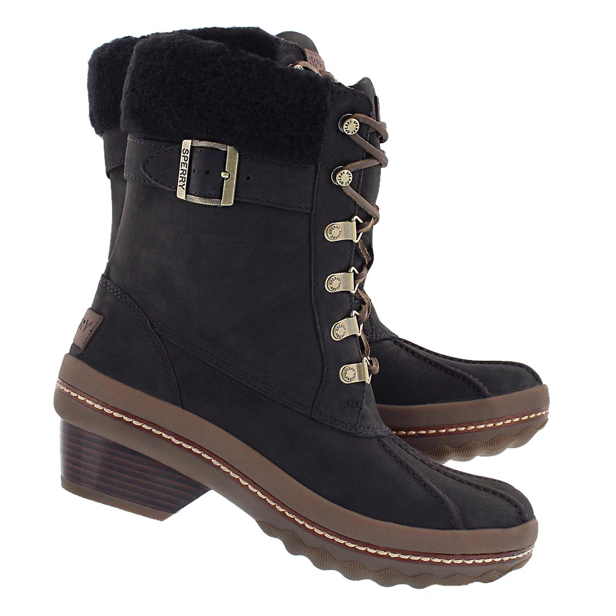 Lds Gold Cup Ava blk wtrprf ankle boot