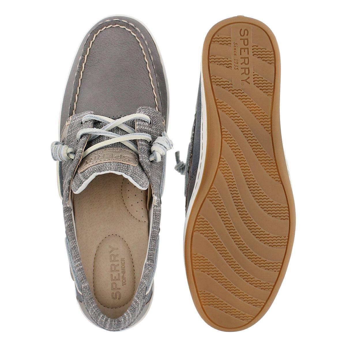 Lds Songfish Metallic Sparkle gry shoe