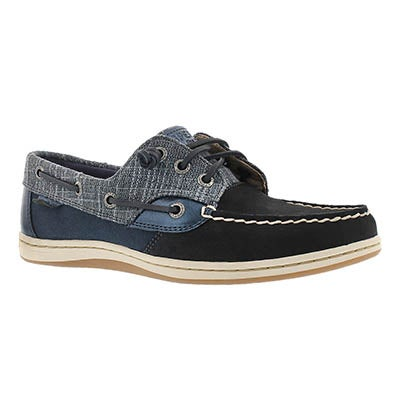 Sperry Women's SONGFISH METALLIC SPARKLE navy shoes