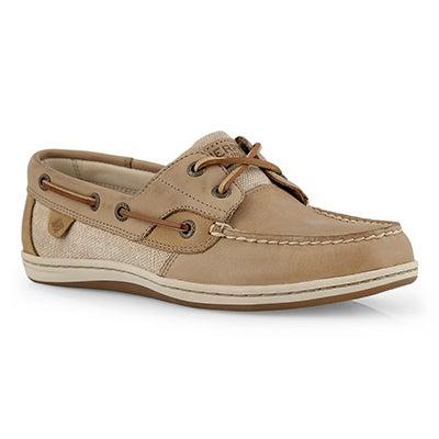 Lds Koifish linen oat boat shoe