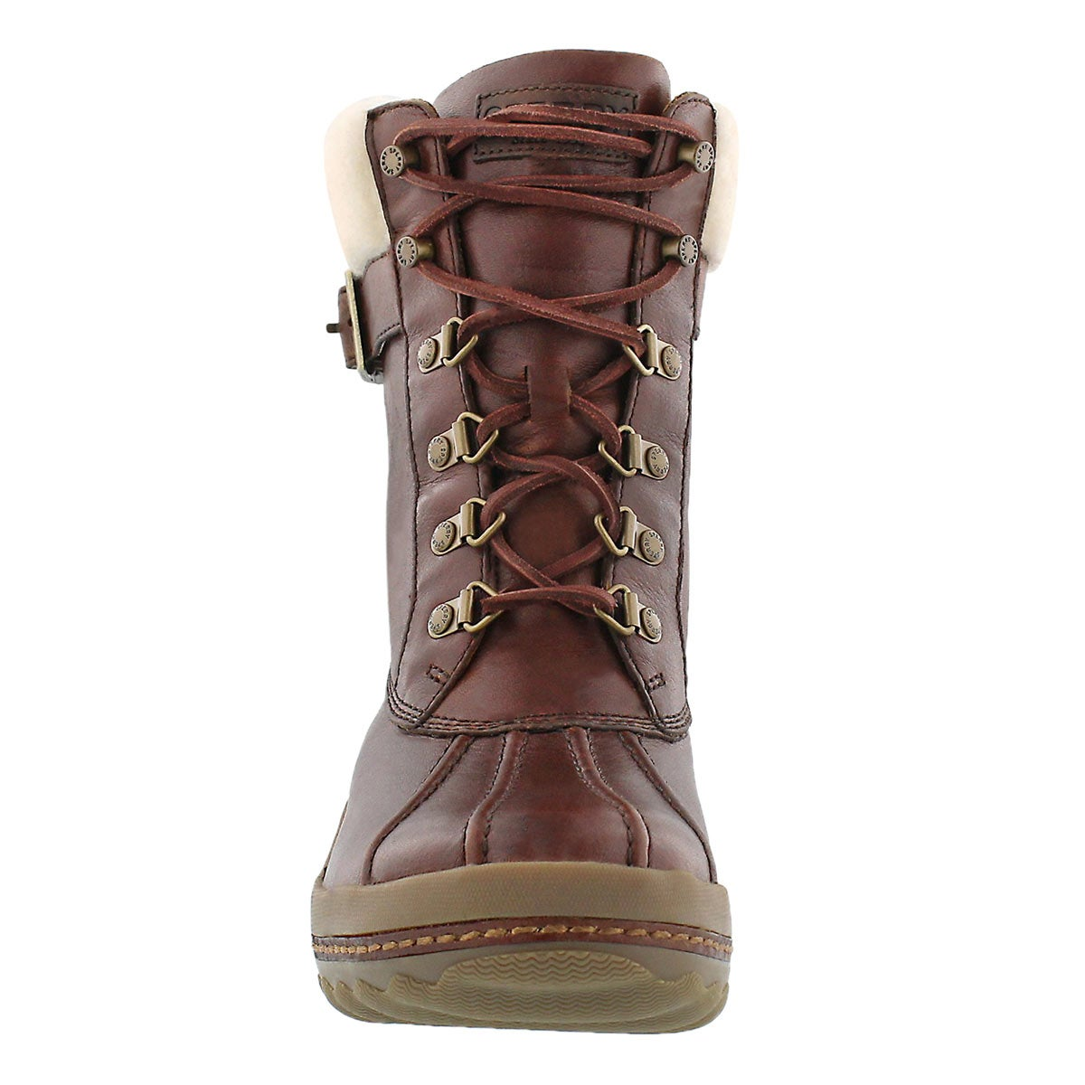 Lds Gold Cup Ava brown wtrprf ankle boot