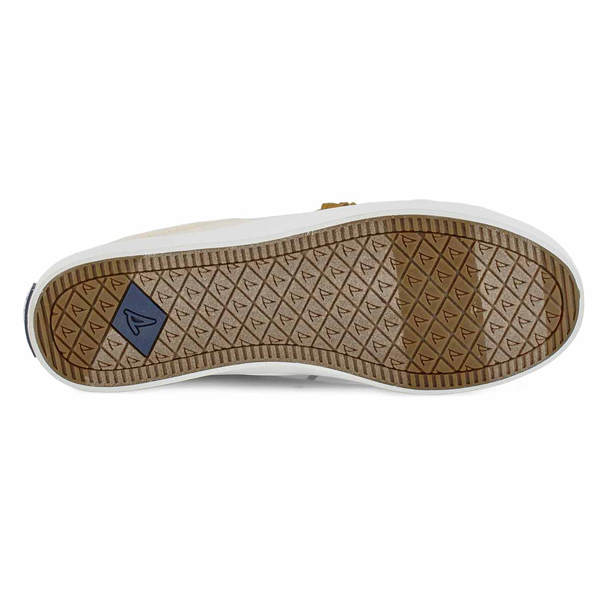 Lds Crest Vibe Linen oat fashion sneaker