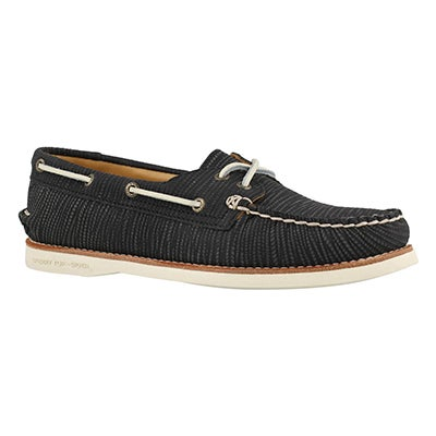 Lds Gold Cup A/O black boat shoe