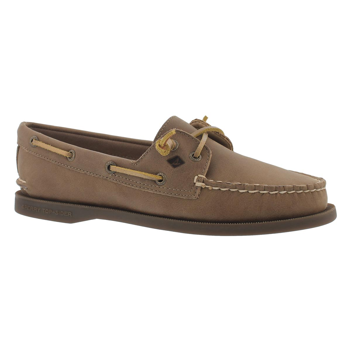 Women's A/O Vida pinebark boat shoes