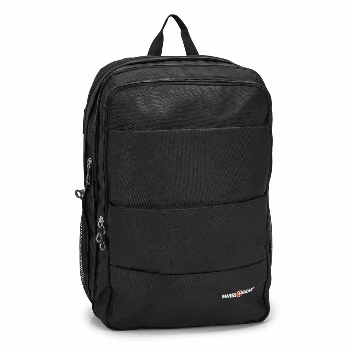 Unisex Swiss Gear black backpack