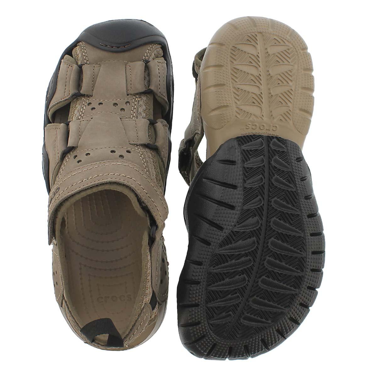 Mns Swiftwater walnut fisherman sandal