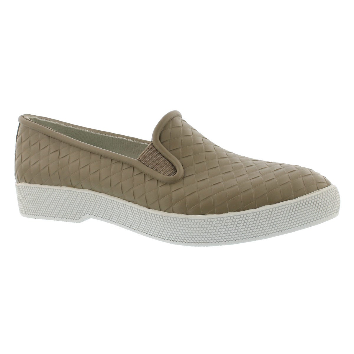 Women's SWOON taupe waterproof slip on shoes