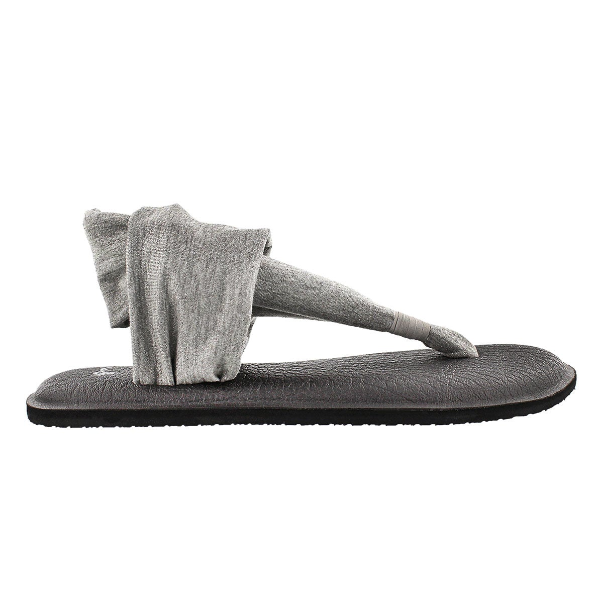 Lds YogaSling silver metallic thong