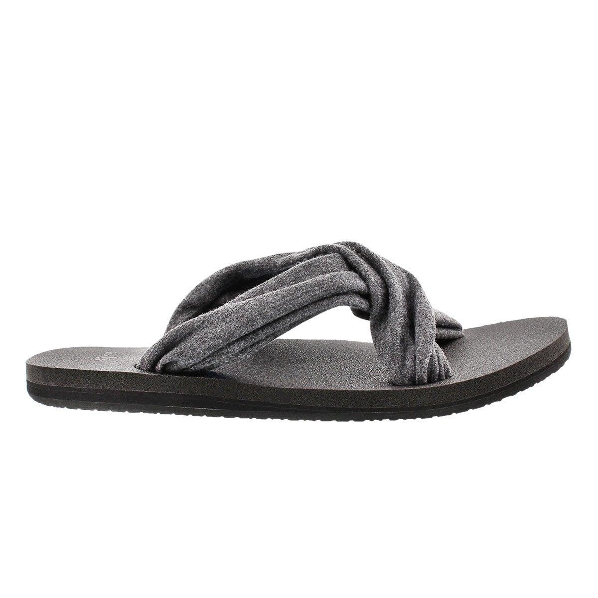 Sandale à enfiler Yoga X-Hale, anth, fem