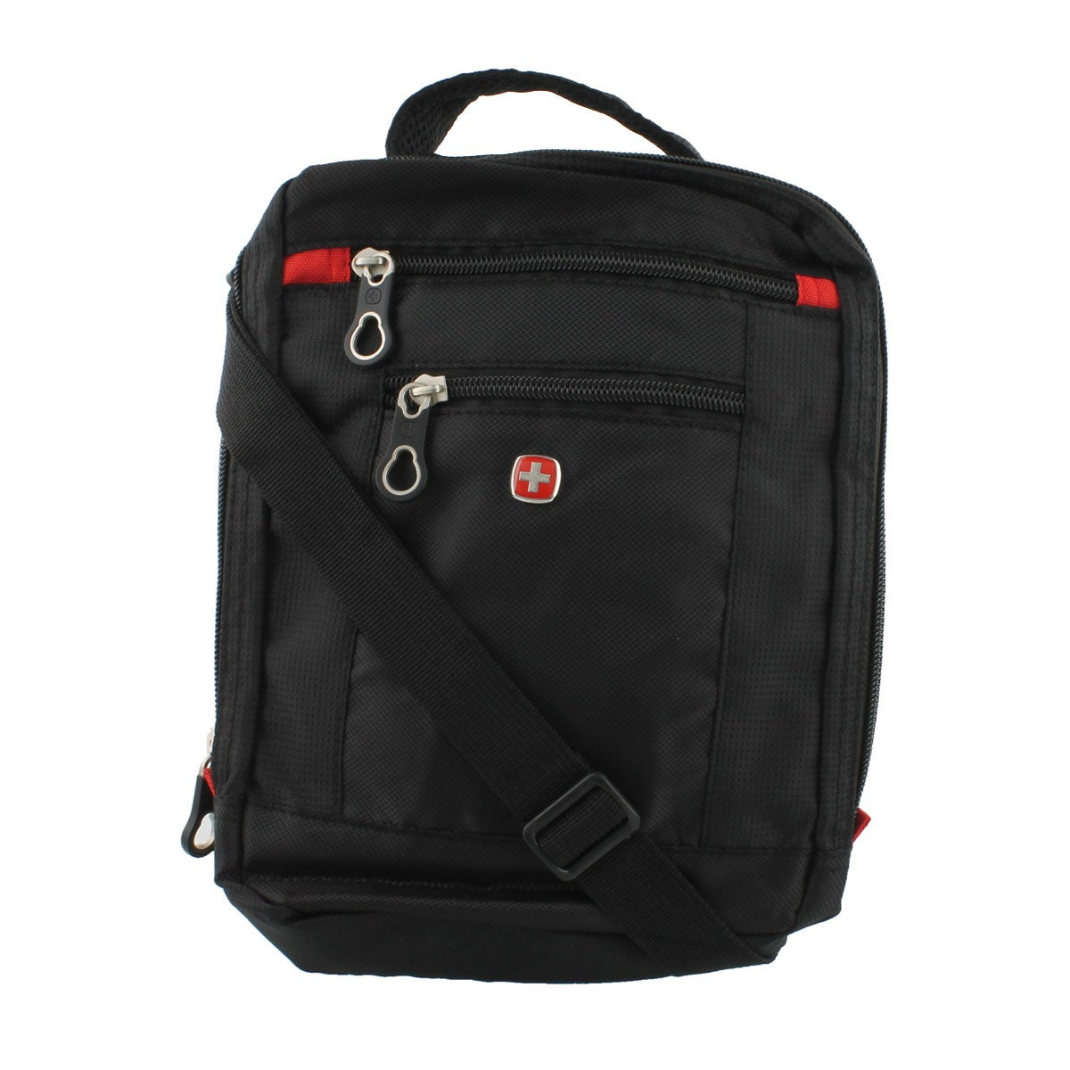 Mns Swiss Gear blk vertical boarding bag