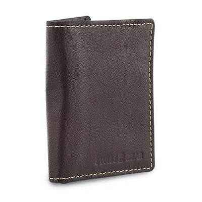 Swiss Gear Men's brown slim card case wallet
