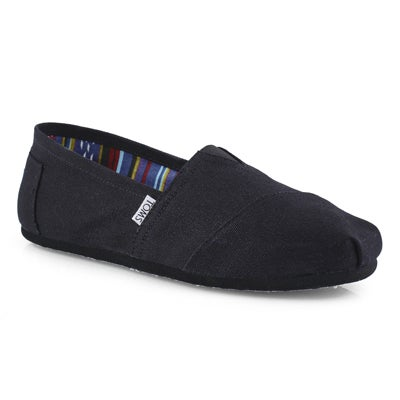 Mns Classic black casual loafer