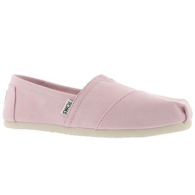 Lds Seasonal Classic pink icing loafer