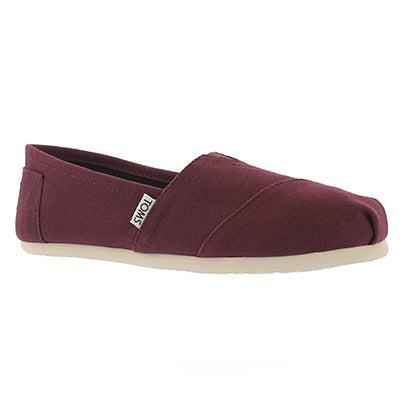 Lds Seasonal Classic rd mahagony loafer