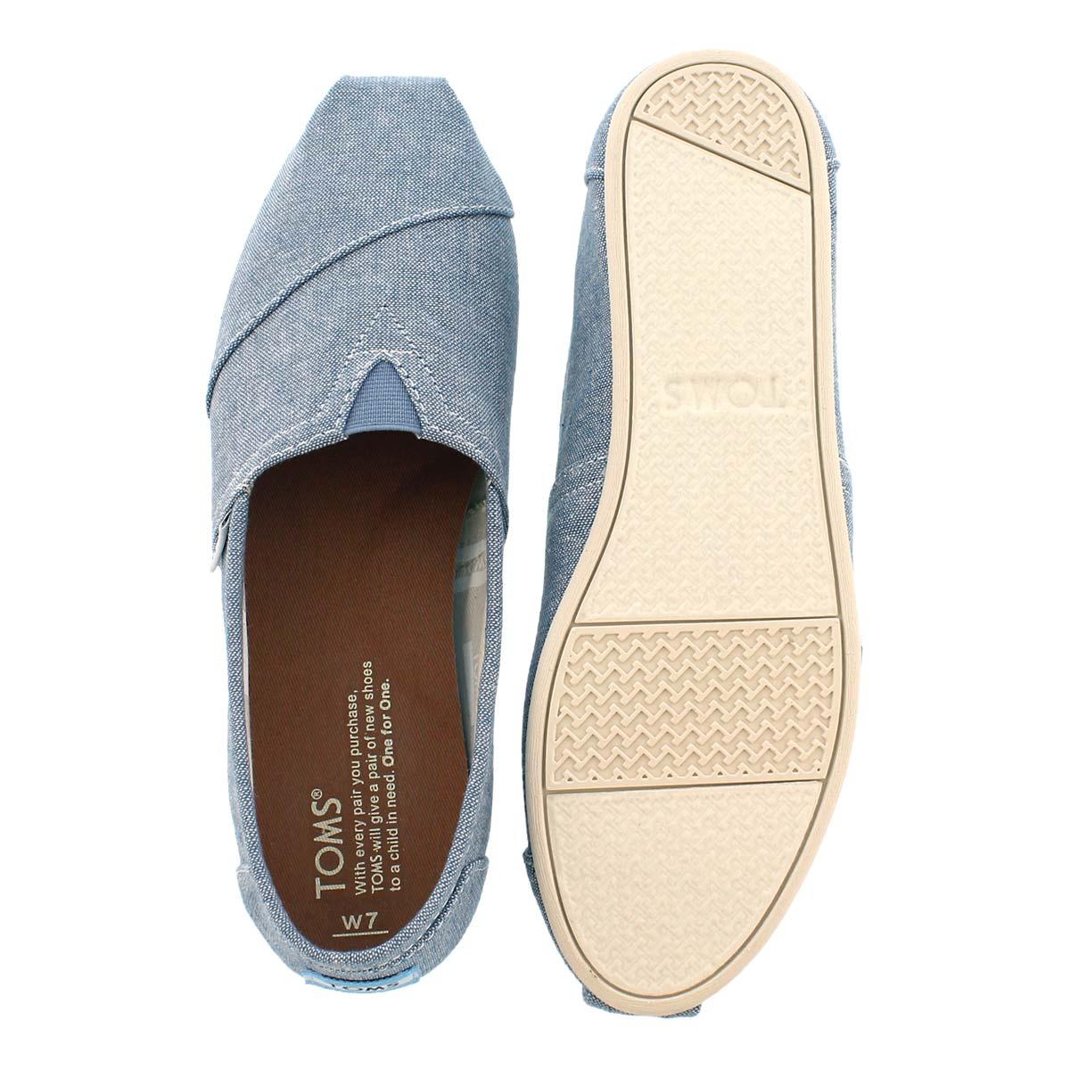 Lds Seasonal Classic blue slub loafer