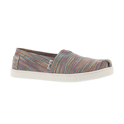 Grls Seasonal Classic multi space loafer